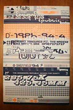 Emigre Design Magazine – Issue 29 The Designers Republic TDR | eBay