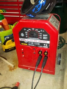 Lincoln Electric    AC      225     AC225     AC      DC    stickTIG    welder    conversion in 2019      Welding    table  Tig