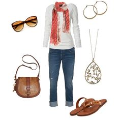 Casual, created by mismel on Polyvore