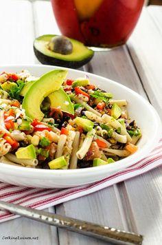 Southwestern Quinoa & Pasta Salad - Cooking Quinoa