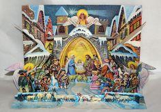 Kubasta, Vojtech - Betlém - Rare Nativity Scene  (# 4532)