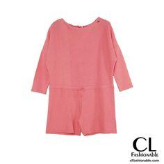 Presume de piernas con este mono corto rosa de Ruga, ideal para entretiempo. #mono #avance #modamujer #verano #ss16 #tendencias #estilo #ropa #fashion #alaultima