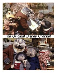 Disney channel the wind in the willows #80s #kidsshow