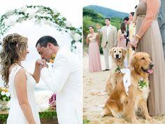 Casamento na Praia | Bárbara + Hugo | Vestida de Noiva | Fernanda Floret | Blog de casamentos cheios de amor de todo o Brasil penteado