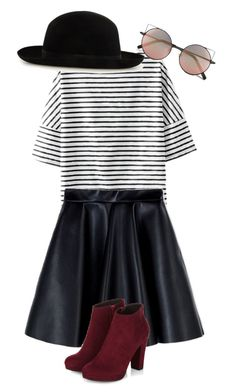"""""""Untitled #213"""" by popstar2170 ❤ liked on Polyvore featuring MSGM and Linda Farrow"""