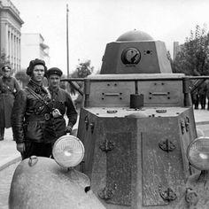 BA-20 armored car 1939 ww2