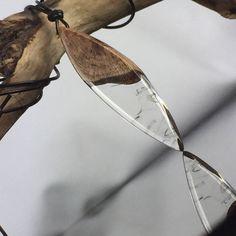 Ein persönlicher Favorit aus meinem Etsy-Shop https://www.etsy.com/de/listing/574676781/resin-wood-necklace-wundervolle-harz