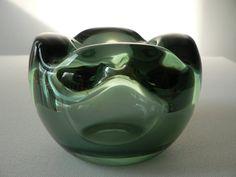 leerdam dutch art glass ashtray ADCopier 1920s