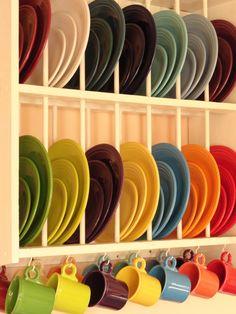 Always loved the colors of Fiestaware! :)