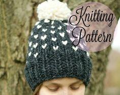 Aspen Hat knitting pattern by FrancesHookHandmade on Etsy
