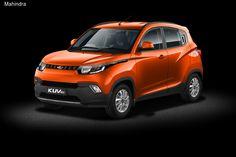 Индийская компания Mahindra & Mahindra представила компактный кроссовер под названием KUV100.