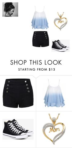 """""""Untitled #330"""" by terismithashton on Polyvore featuring Converse"""