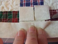 Tutorial for accurately joining quilt binding.