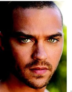 Gorgeous Guys with green eyes | Men Alive Network - Jesse Williams extreme closeup with gorgeous green ...