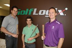 Nuno and Darren from Corktree at Golf Logix