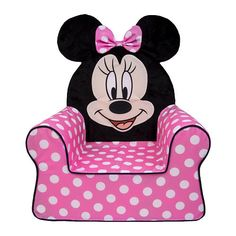 "$39.99 - Marshmallow - Comfy Chair - Disney Jr. - Minnie Mouse - Spin Master  - Babies""R""Us"