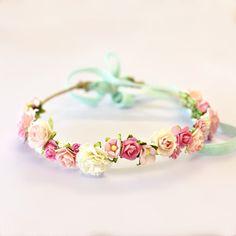 Flower Crown  High Tea Hens Party Bridal Shower by MegsyJane