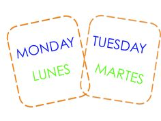 Learn the days of the week with this free printable.