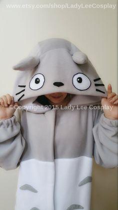 Mein Nachbar Totoro Totoro Kigurumi Erwachsene von LadyLeeCosplay