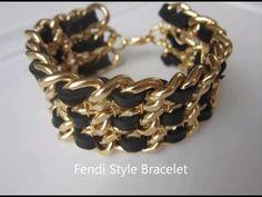 DiY Fendi Style Bracelet