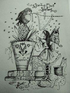 fantasy, fairies, art, illustration