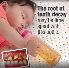 Dentaltown - The root of tooth decay may be the time spent with this bottle.