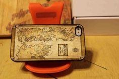 GAME OF THRONE HAUSES MAP for iPhone 4/4s/5/5s/5c Samsung Galaxy s3/s4 – Sopive