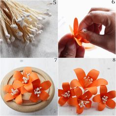 DIY: Paper Tiger Lily Tutorial | Reduce. Reuse. Recycle. Replenish. Restore.