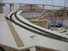 Colocación de vías en modelismo ferroviario