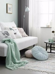 Floor Lamps And Pastel Colors For Your Home Design Ideas