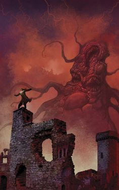 Whispers from the Abyss II by PatrickMcEvoy H. P. Lovecraft