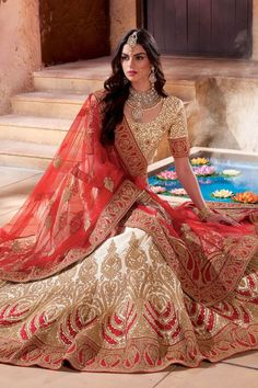 Beautiful wedding Lehenga choli colletion for Marriage. via www.Anfashions.in