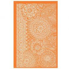 Silk Screen pour Pâte polymère 158x121 mm - Motif Floral Fantasy Henna