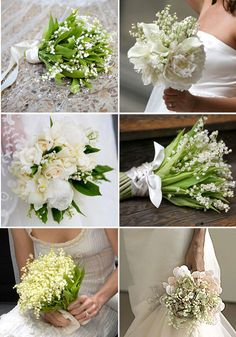 lily of the valley bouquet like Grace Kelly