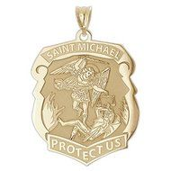 St michael police medal st michael police and products st michael law enforcement personalized pendants protecting police officers and their families mozeypictures Choice Image