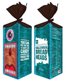 Bread Heads #Halloween Bread! This is awesome #packaging PD