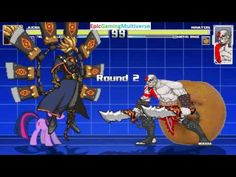 The Annoying Orange And Kratos VS Judgment & Twilight Sparkle In A MUGEN Match / Battle / Fight This video showcases Gameplay of Twilight Sparkle From The My Little Pony Friendship Is Magic Series And Judgment From The Guilty Gear Series VS Kratos From The God Of War Series And The Annoying Orange In A MUGEN Match / Battle / Fight