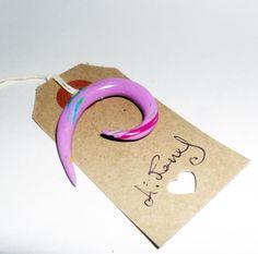 Angel Delight  Stretcher gauge  5mm  pink by AeysheaJones on Etsy, £3.00