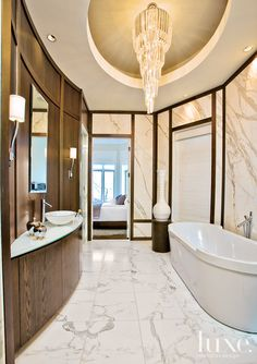 Luxury Bathroom in Chicago