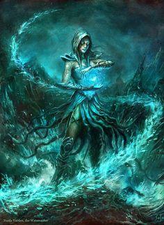 Foto Fantasy, Fantasy Magic, 3d Fantasy, Fantasy Women, Fantasy Artwork, Dark Fantasy, Dnd Characters, Fantasy Characters, Vampires