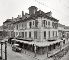 Napoleon House, circa 1905 (New Orleans Vintage Photos)