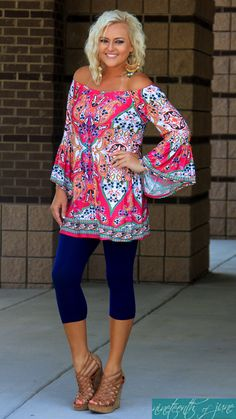 Boho Style. Bell Sleeve Top. Summer Outfit. NOJ Boutique.