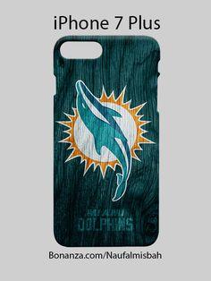 Miami Dolphins Custom iPhone 7 PLUS Case Cover Wrap Around
