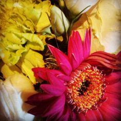 Wedding leftovers #flowers