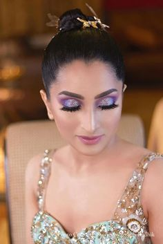 Nancy and Rishi, Jodhpur Bridal Eye Makeup, Hair Makeup, Jodhpur, Makeup Trends, Real Weddings, Destination Wedding, Earrings, Jewelry, Fashion