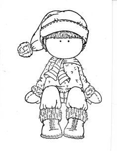 edwin : bonnet, écharpe, moufles et bottes - hiver