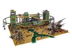 Containment: A Steampunk Sci Fi Alien Lego Landscape