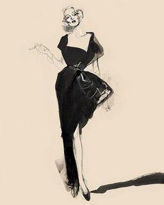 Dietrich by David Downton