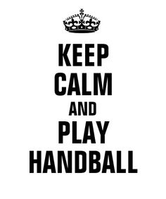 Shop Keep calm and play Handball T-Shirt created by Personalize it with photos & text or purchase as is! Leader Quotes, Boss Quotes, Life Quotes, Fatherhood Quotes, Will Smith Quotes, Handball Players, Game Day Quotes, Game Day Shirts, Charts For Kids
