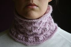 Ravelry: Ridged Lace Cowl pattern by Elinor Brown